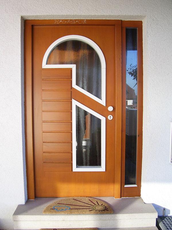 Haustür glas holz  Haustüren von Fenster Stoll